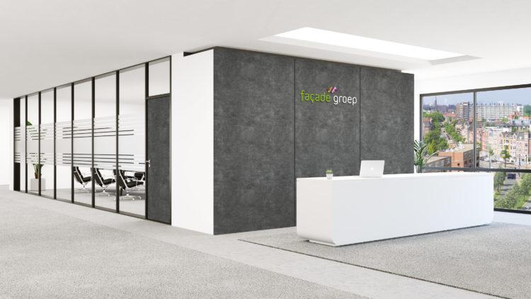 LG Interieurfolie Donkergrijs beton